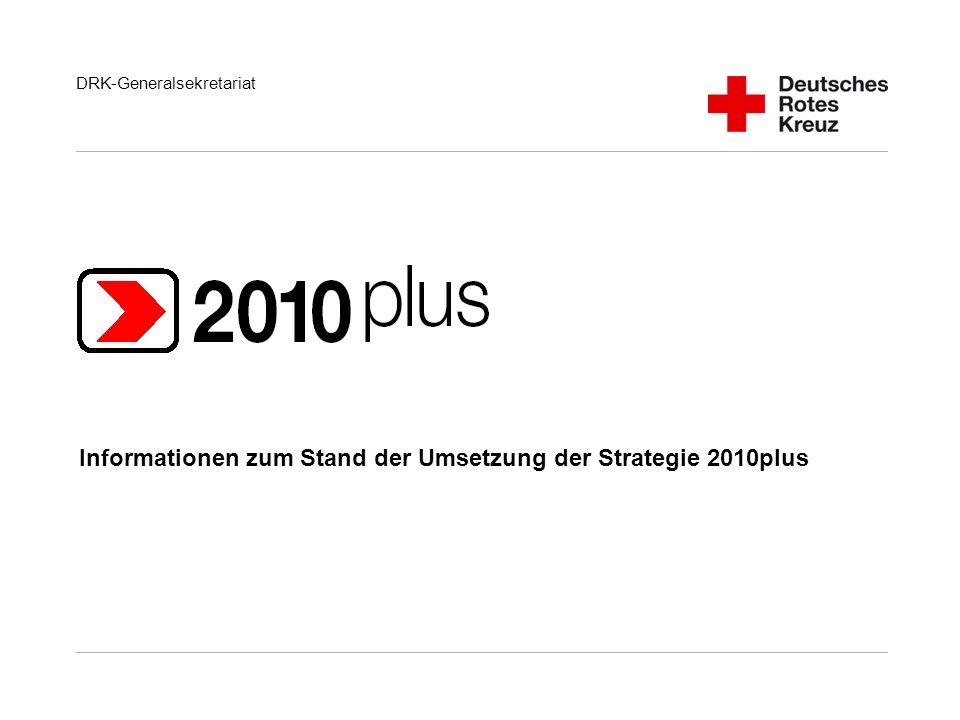 Informationen zum Stand der Umsetzung der Strategie 2010plus