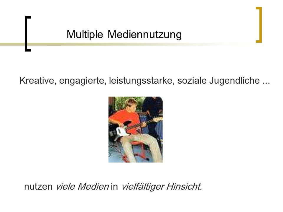 Multiple Mediennutzung