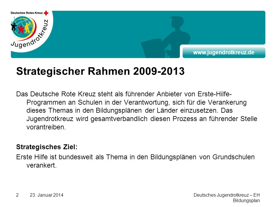 Strategischer Rahmen 2009-2013
