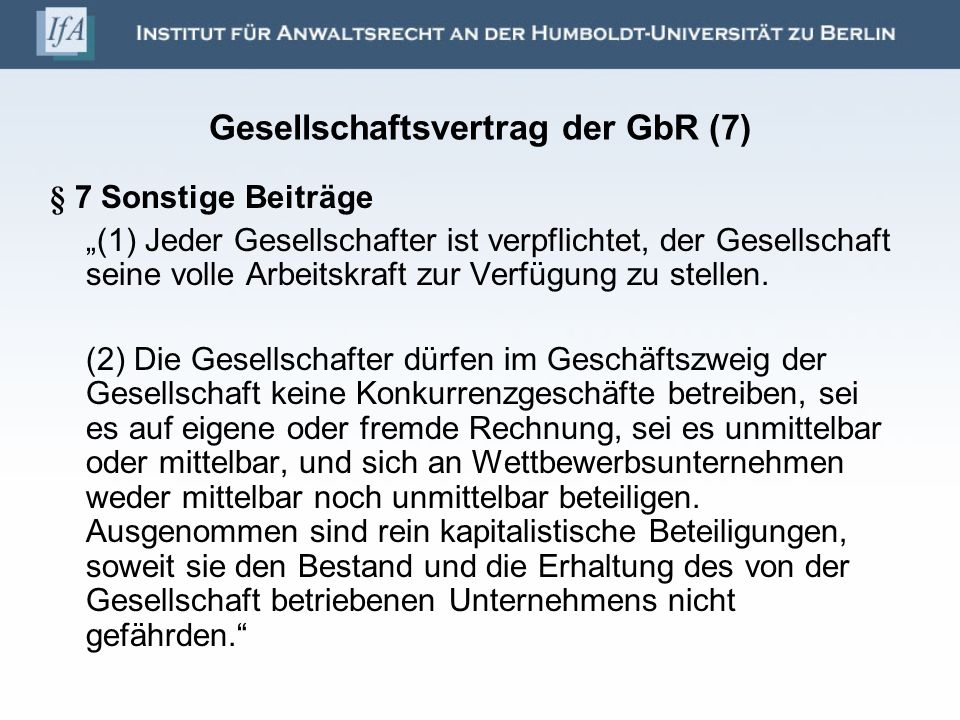 Gesellschaftsvertrag der GbR (7)