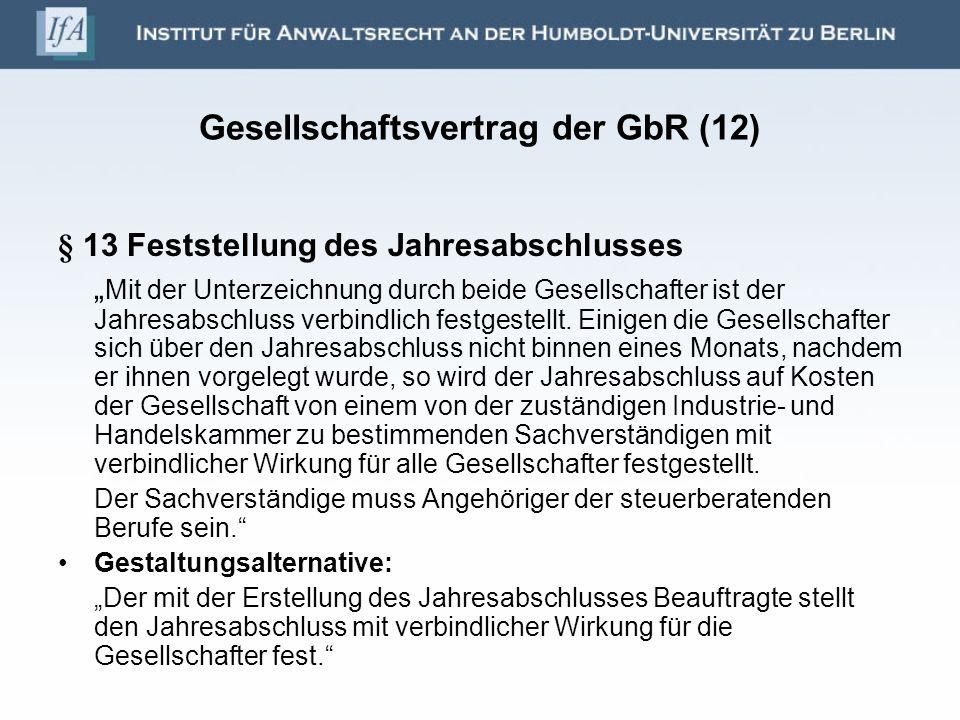 Gesellschaftsvertrag der GbR (12)