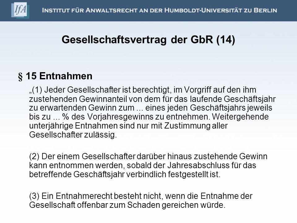 Gesellschaftsvertrag der GbR (14)