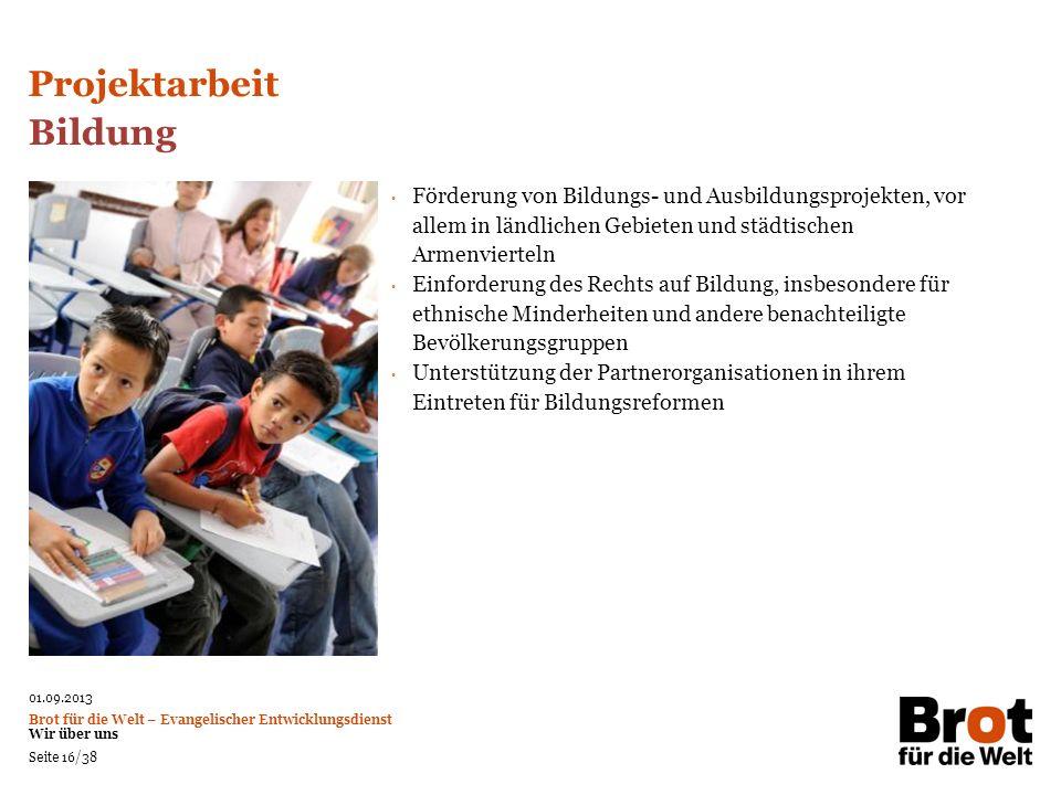 Projektarbeit Bildung