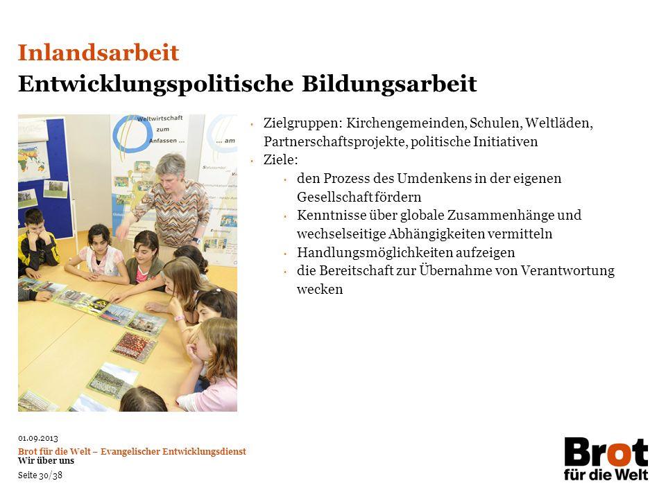 Entwicklungspolitische Bildungsarbeit