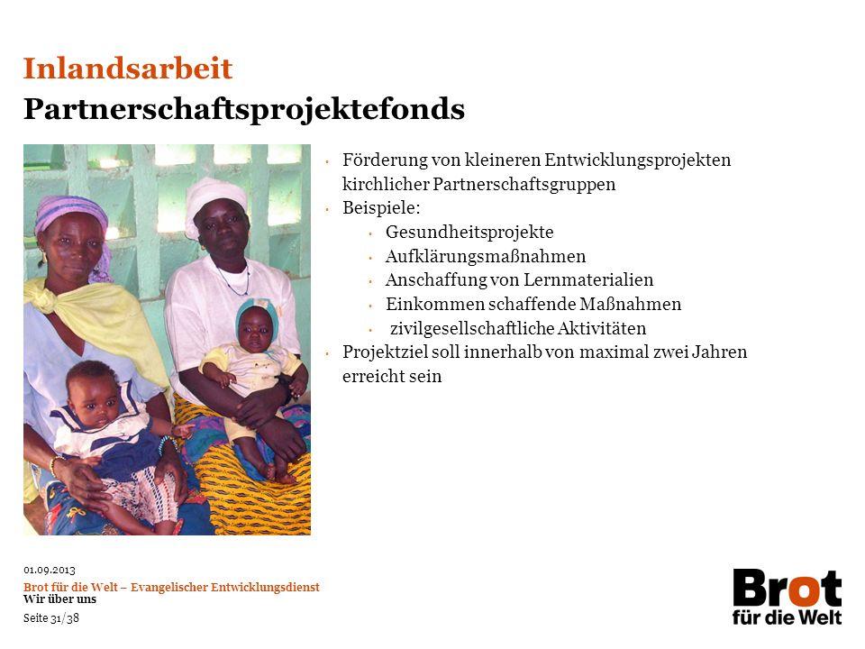 Partnerschaftsprojektefonds