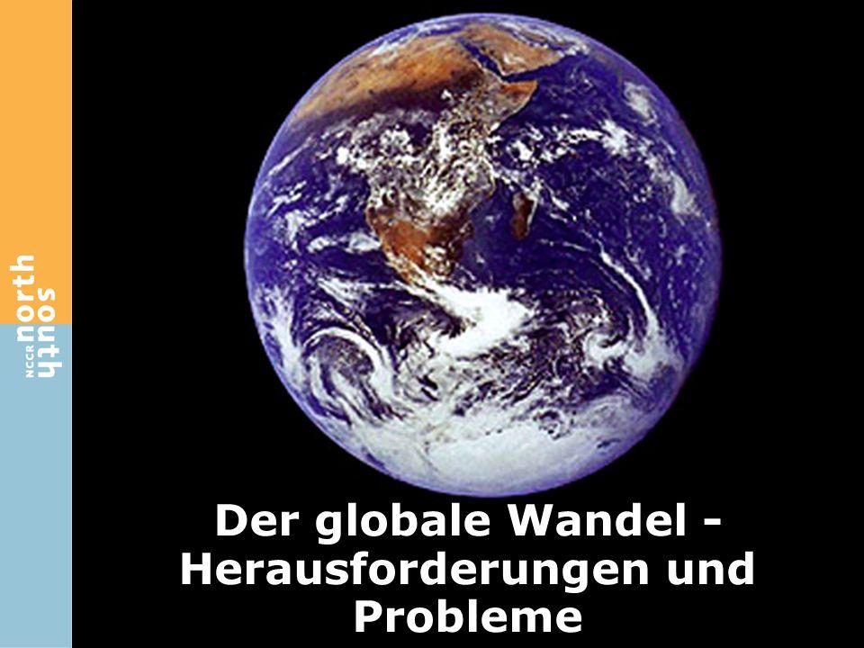 Der globale Wandel - Herausforderungen und Probleme