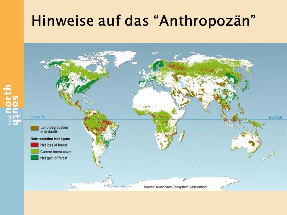 Hinweise auf das Anthropozän