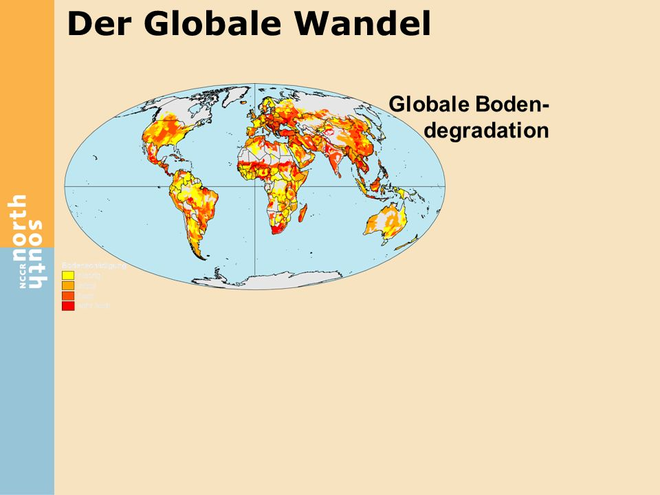 Der Globale Wandel Globale Boden-degradation