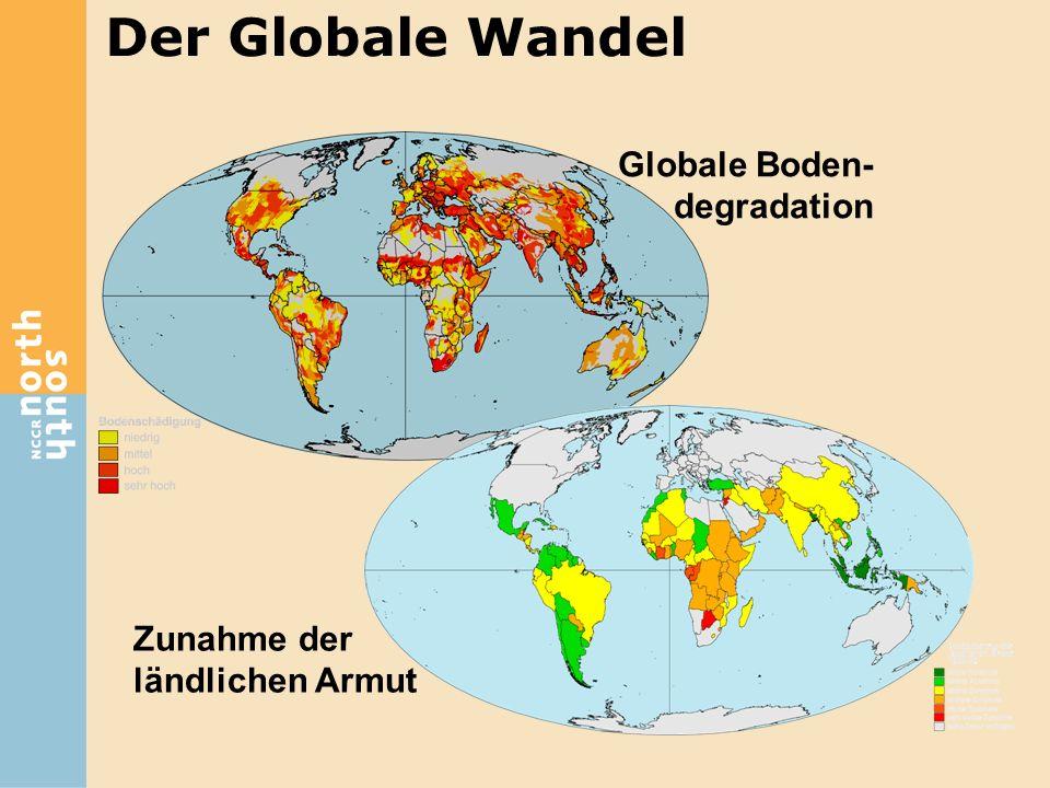 Der Globale Wandel Globale Boden-degradation Zunahme der