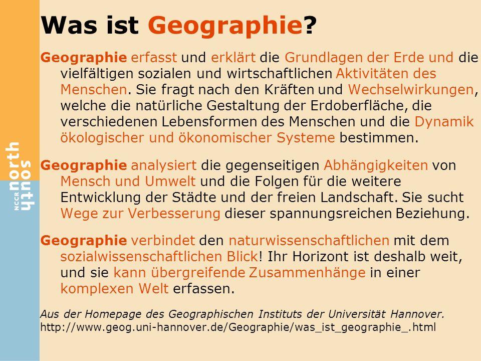 Was ist Geographie