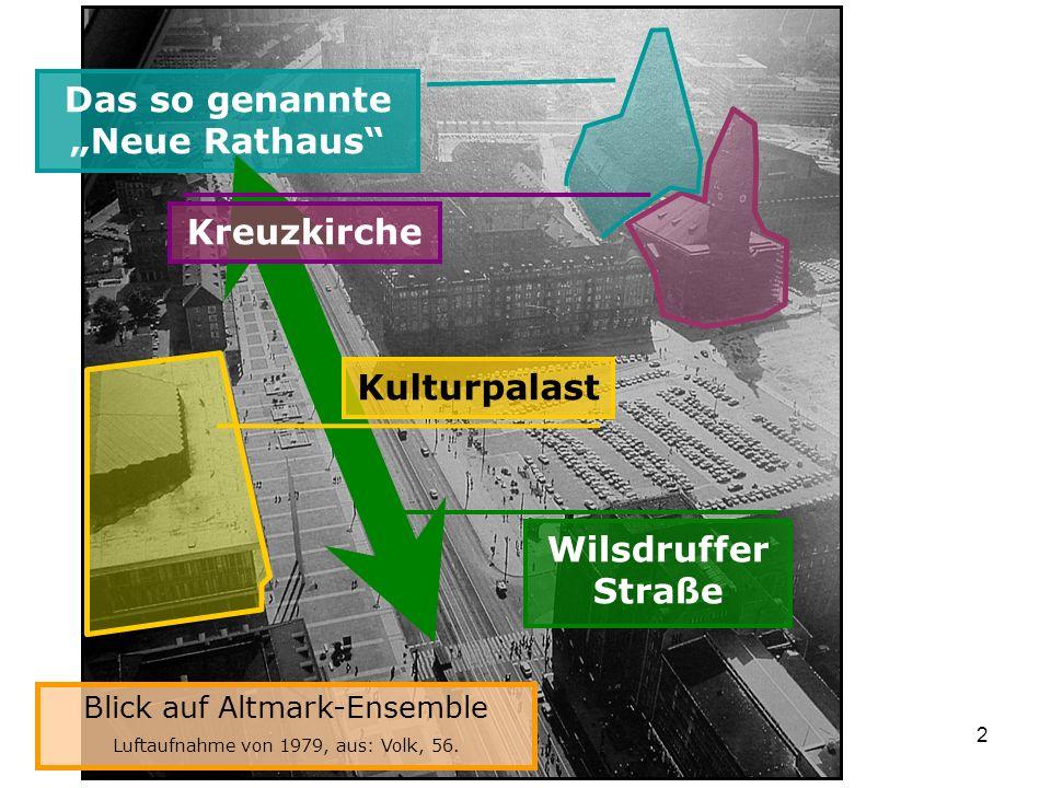 """Das so genannte """"Neue Rathaus"""