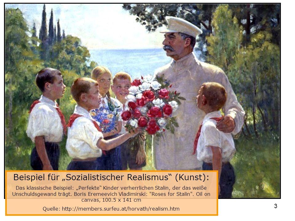 """Beispiel für """"Sozialistischer Realismus (Kunst):"""