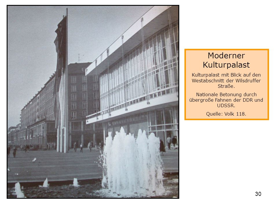 Moderner Kulturpalast