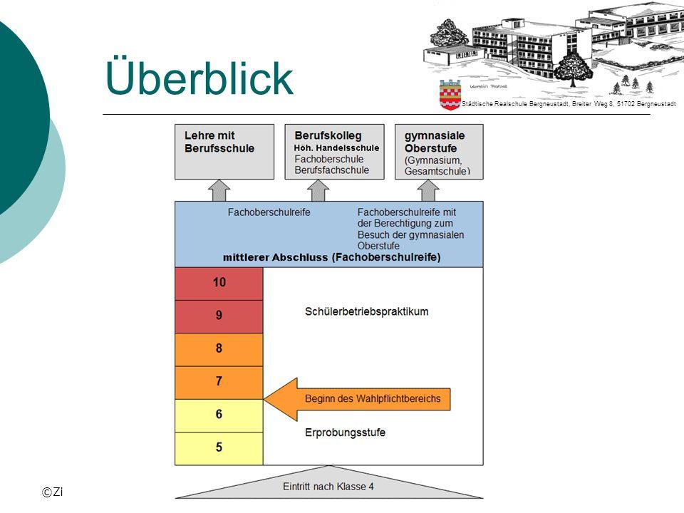 Überblick Städtische Realschule Bergneustadt, Breiter Weg 8, 51702 Bergneustadt ©Zi