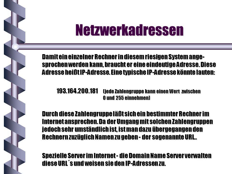 Netzwerkadressen