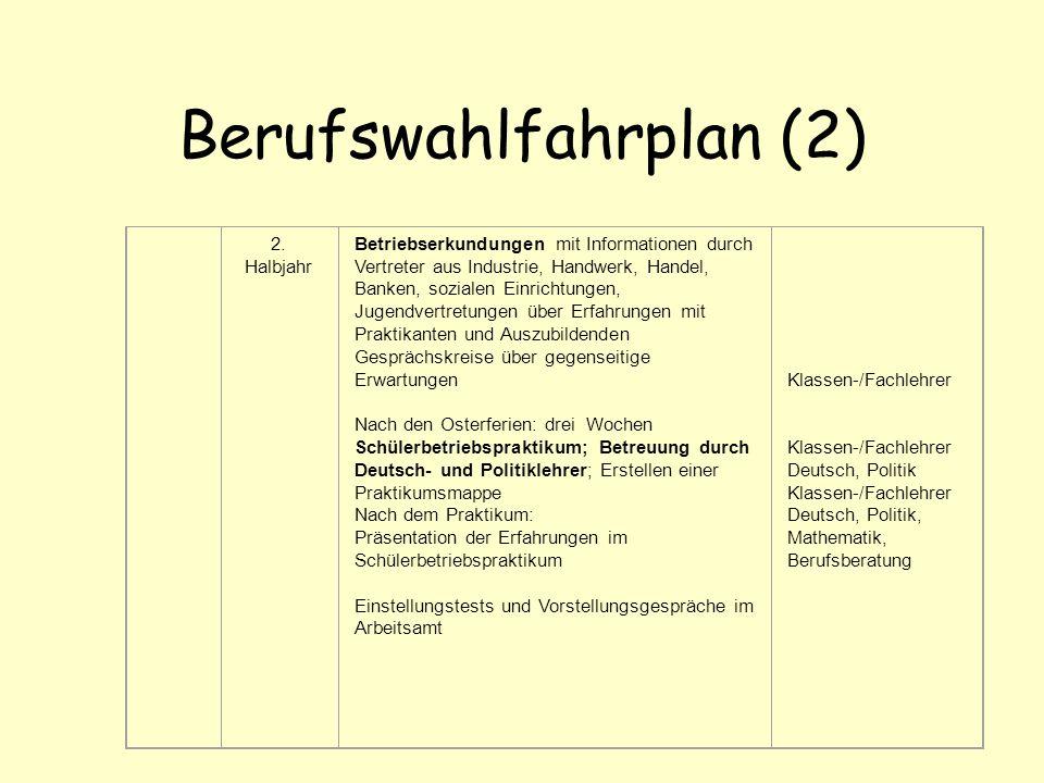 Berufswahlfahrplan (2)