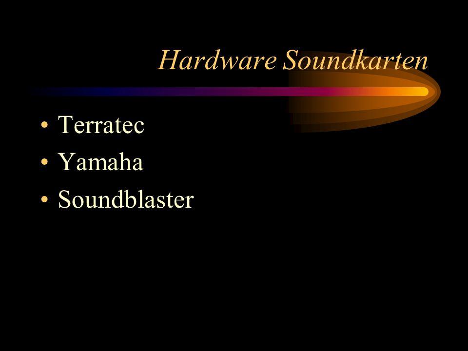 Hardware Soundkarten Terratec Yamaha Soundblaster