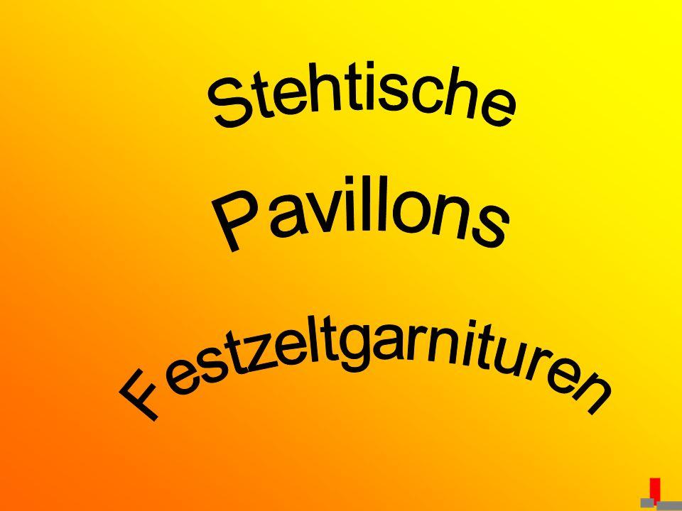 Stehtische Pavillons Festzeltgarnituren