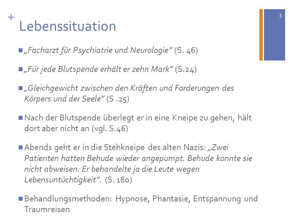 """+ Lebenssituation """"Facharzt für Psychiatrie und Neurologie (S. 46)"""