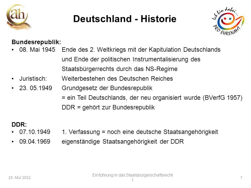 Deutschland - Historie