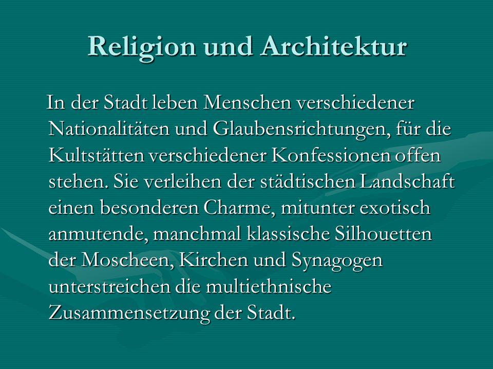 Religion und Architektur
