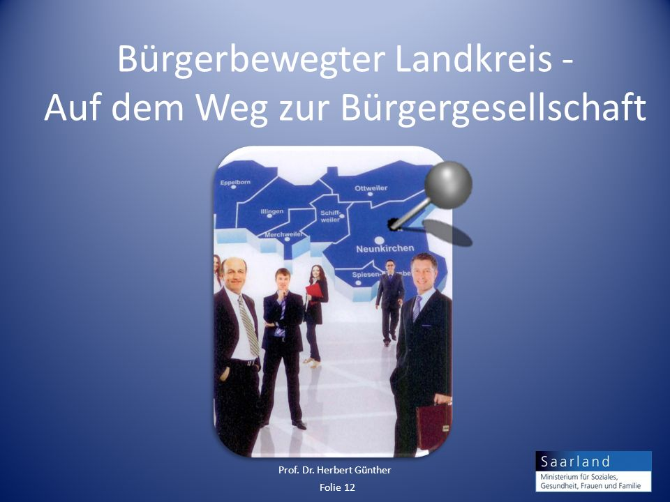 Bürgerbewegter Landkreis - Auf dem Weg zur Bürgergesellschaft