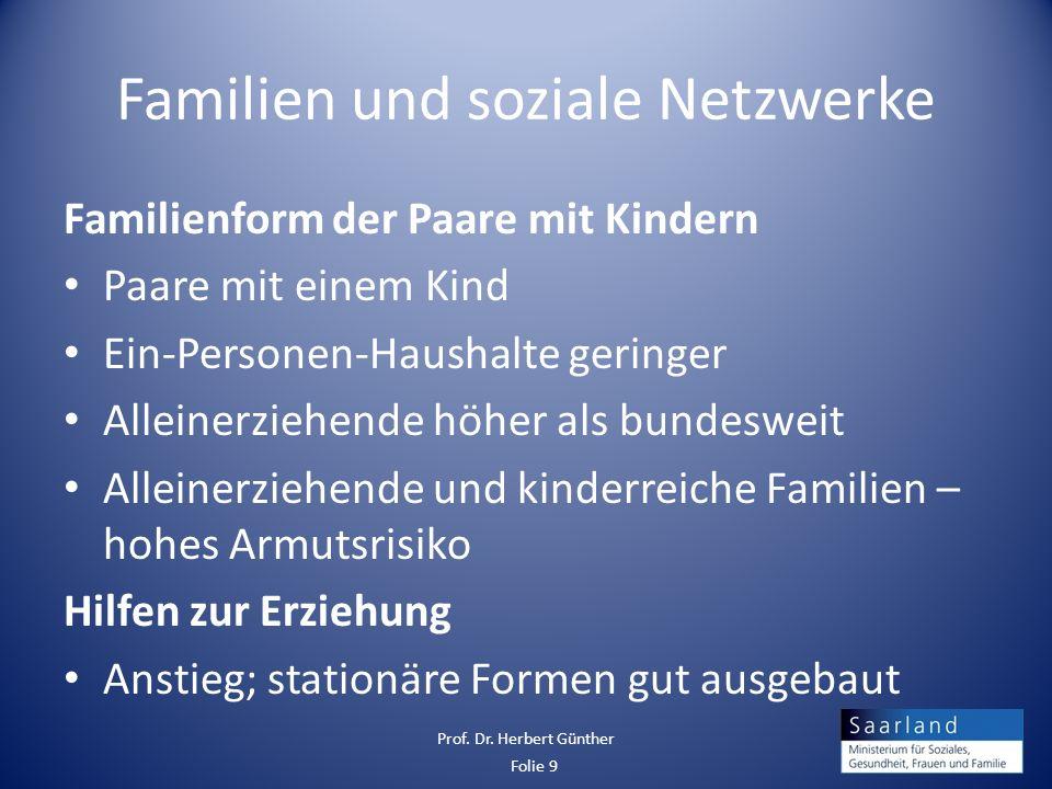 Familien und soziale Netzwerke