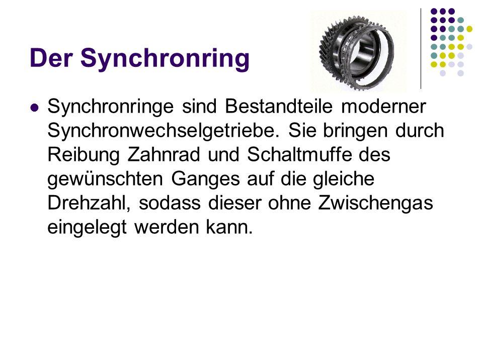 Der Synchronring