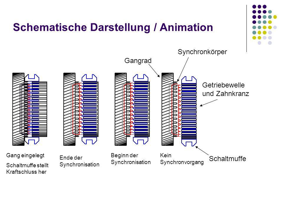 Schematische Darstellung / Animation