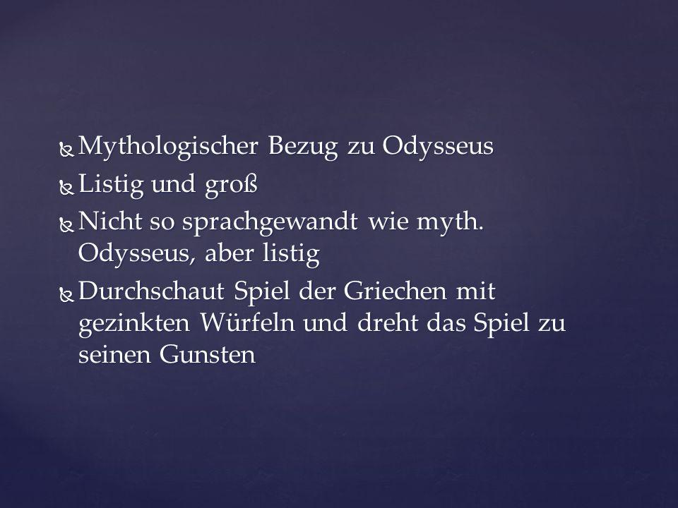Mythologischer Bezug zu Odysseus