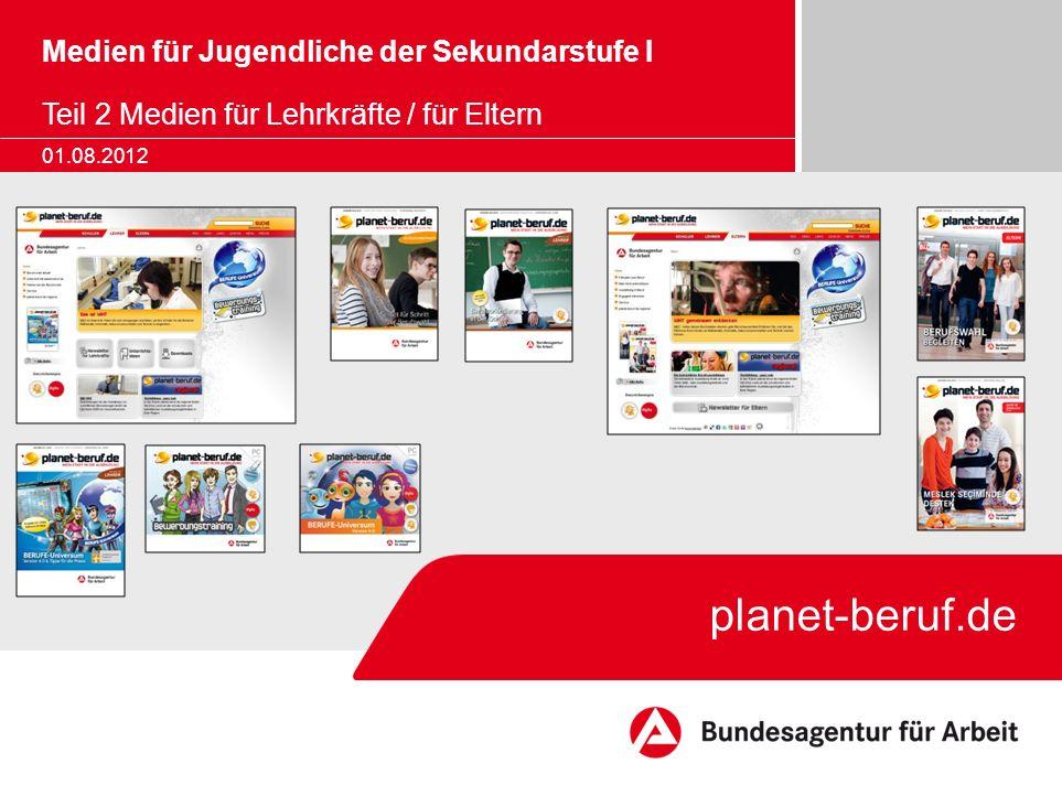 Medien für Jugendliche der Sekundarstufe I Teil 2 Medien für Lehrkräfte / für Eltern