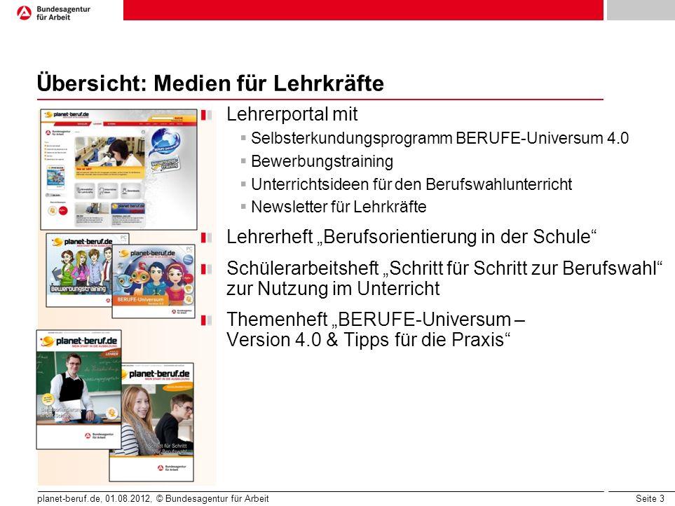 Übersicht: Medien für Lehrkräfte