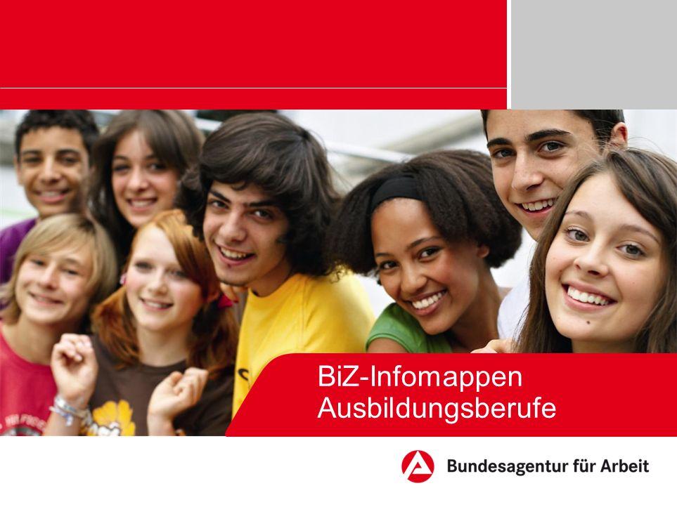 BiZ-Infomappen Ausbildungsberufe