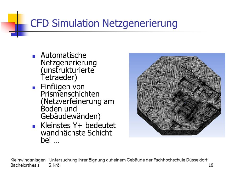 CFD Simulation Netzgenerierung
