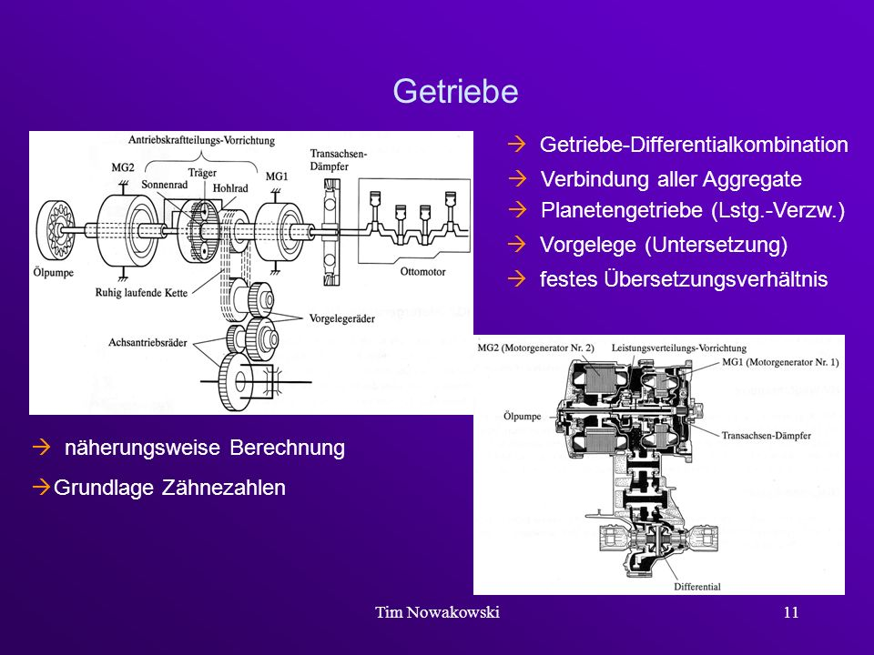  Getriebe-Differentialkombination