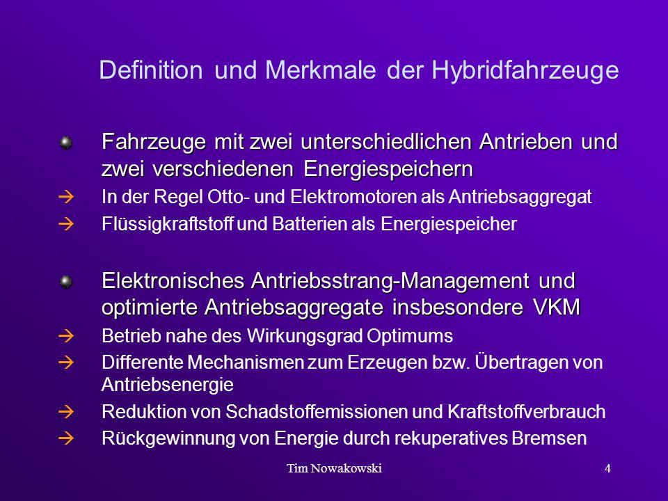 Definition und Merkmale der Hybridfahrzeuge