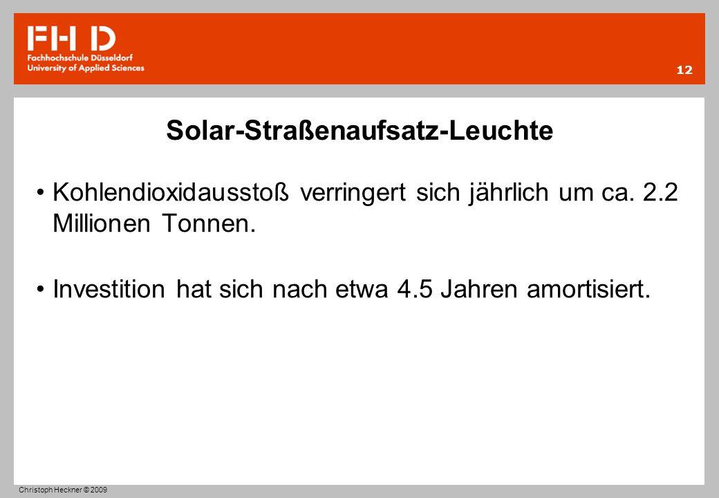 Solar-Straßenaufsatz-Leuchte