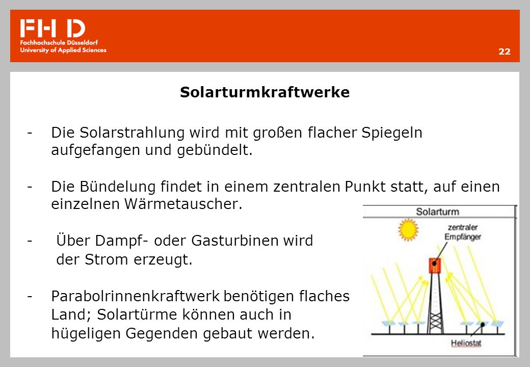 Über Dampf- oder Gasturbinen wird der Strom erzeugt.