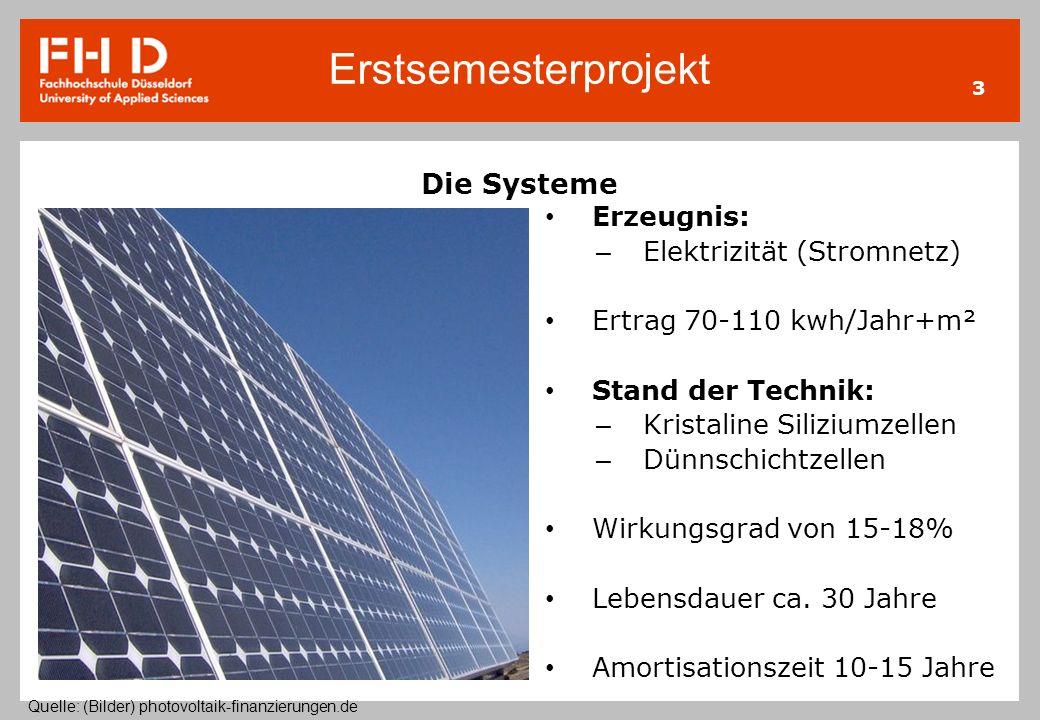 Die Systeme Erzeugnis: Elektrizität (Stromnetz)