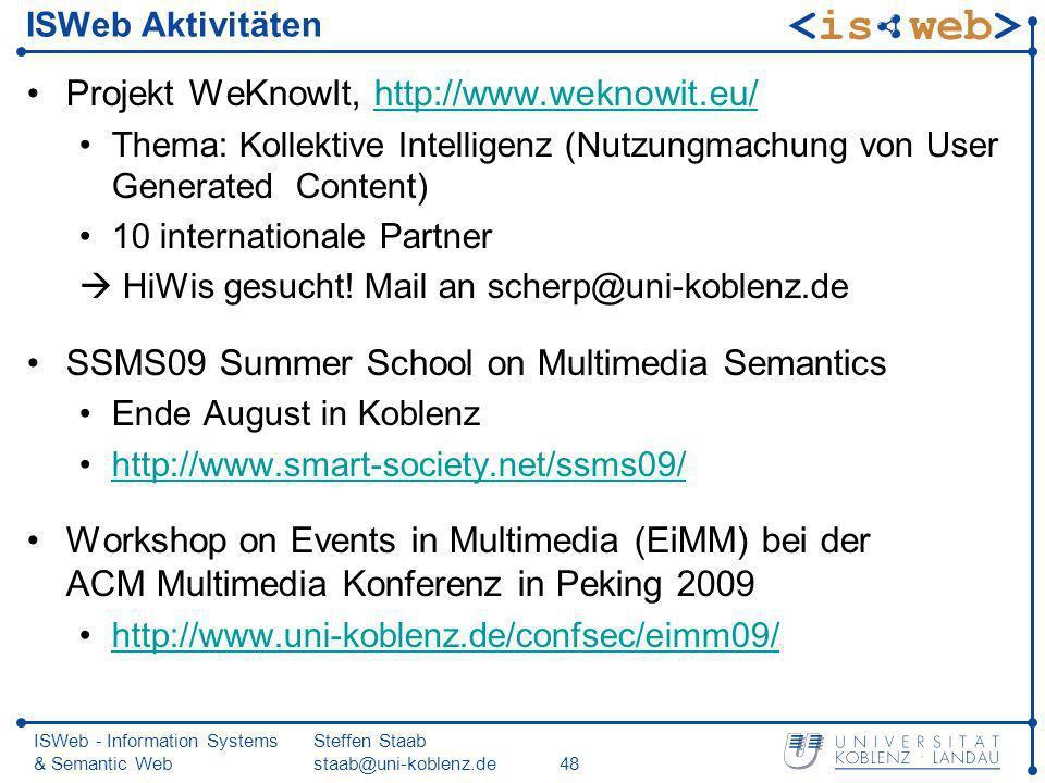 Projekt WeKnowIt, http://www.weknowit.eu/