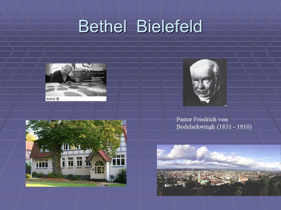 Bethel Bielefeld Pastor Friedrich von Bodelschwingh (1831 - 1910)