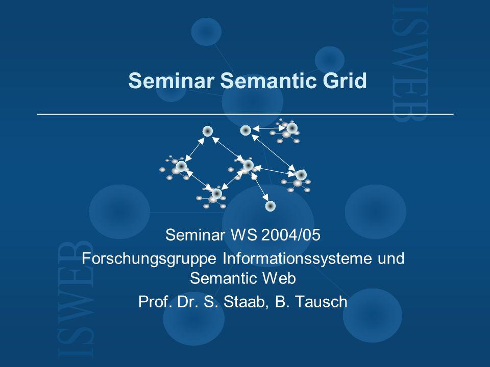 Forschungsgruppe Informationssysteme und Semantic Web