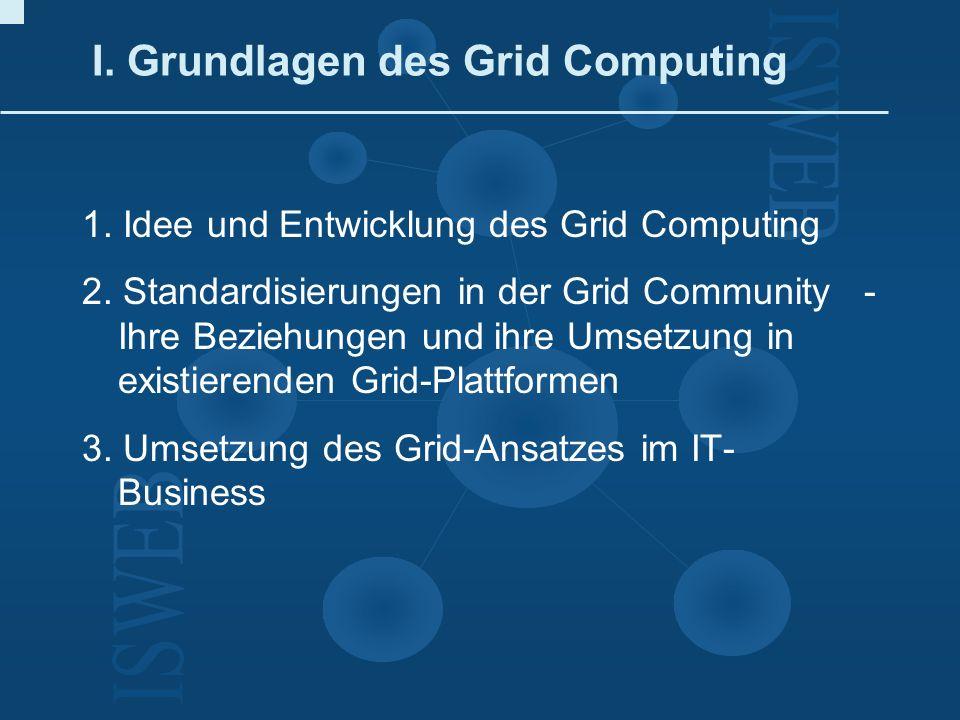 I. Grundlagen des Grid Computing