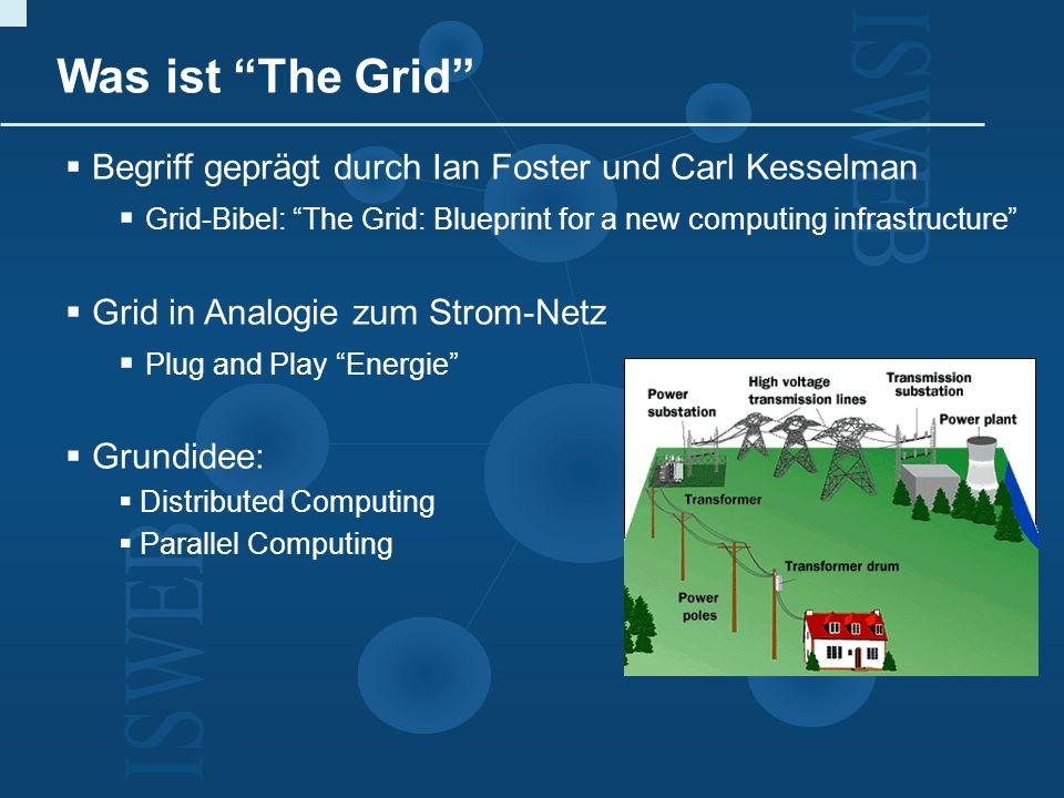 Was ist The Grid Begriff geprägt durch Ian Foster und Carl Kesselman