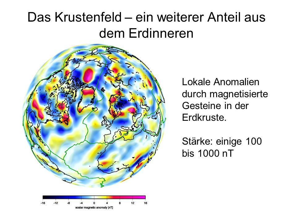 Das Krustenfeld – ein weiterer Anteil aus dem Erdinneren