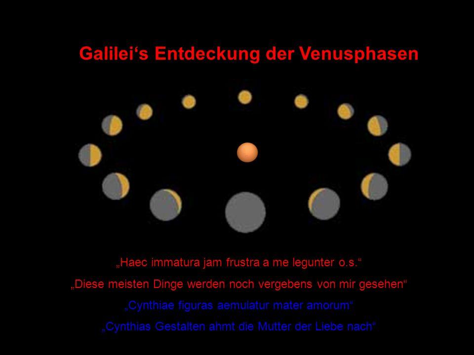 Galilei's Entdeckung der Venusphasen