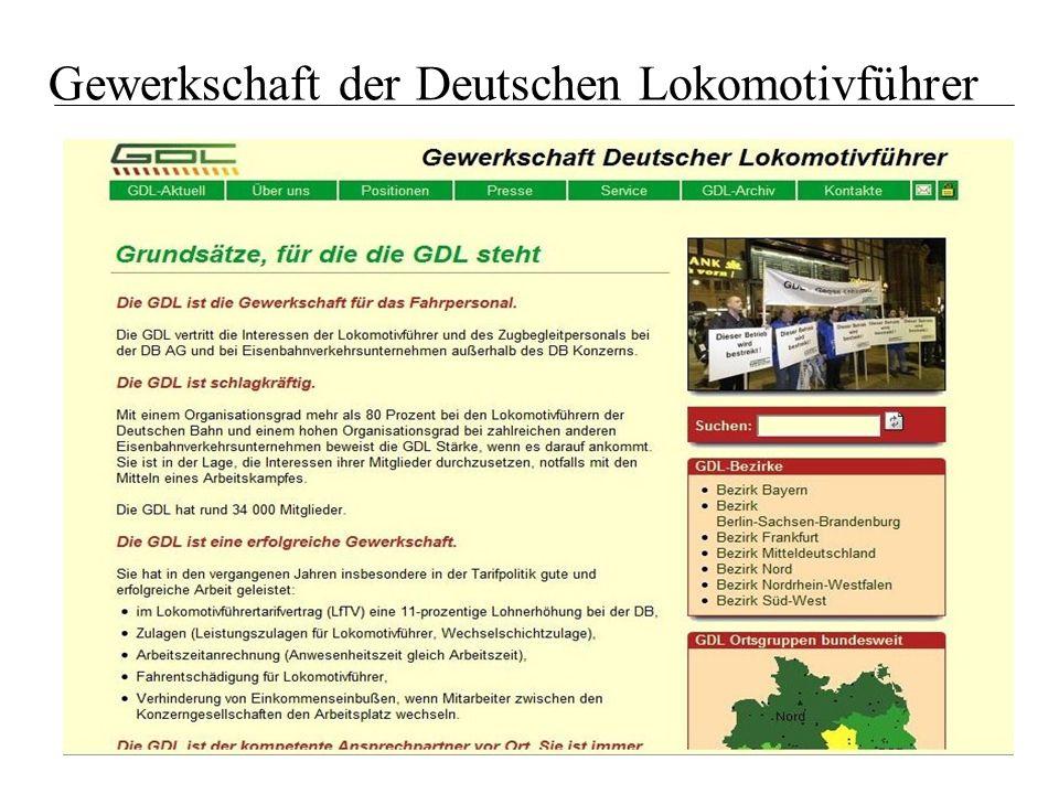 Gewerkschaft der Deutschen Lokomotivführer