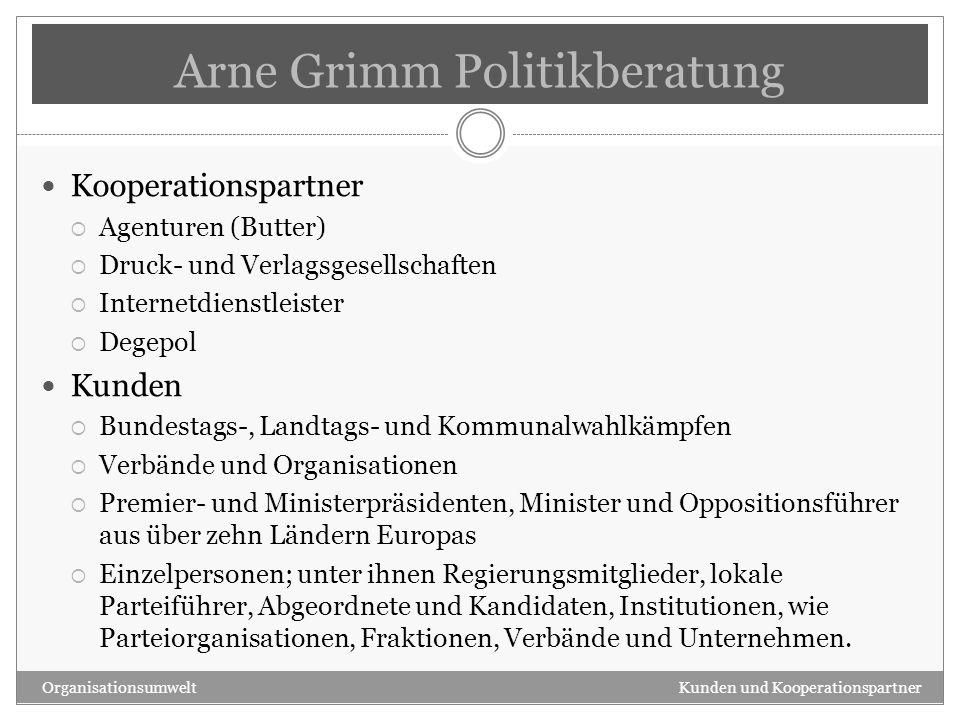 Arne Grimm Politikberatung