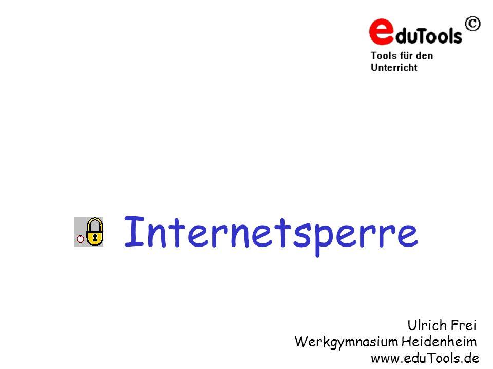 Internetsperre Ulrich Frei Werkgymnasium Heidenheim