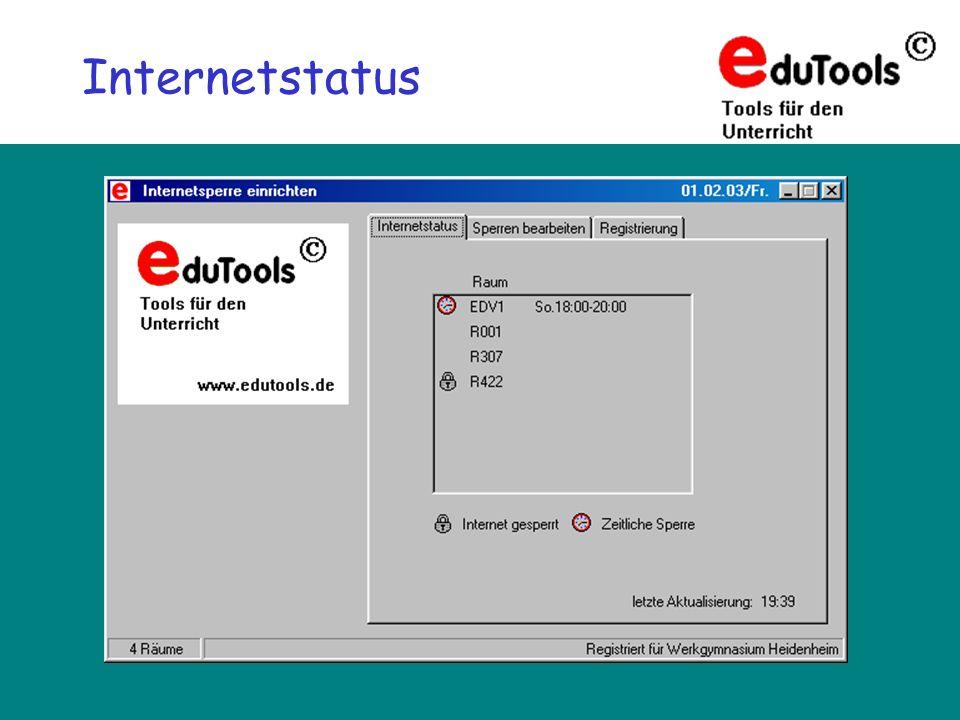Internetstatus